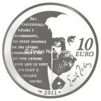 10 euro France 2011 argent BE - Nana Revers