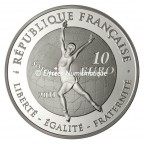 10 euro France 2011 argent BE - Patinage artistique Revers
