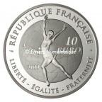 10 euro France 2011 argent BE - Patinage artistique Revers
