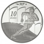 10 euro France 2011 argent BE - Racing Metro 92 Obverse