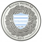 10 euro France 2011 argent BE - Racing Metro 92 Reverse
