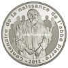 10 euro France 2012 argent BE - Abbé Pierre Avers