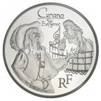 10 euro France 2012 argent BE - Cyrano Avers