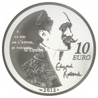 10 euro France 2012 argent BE - Cyrano Revers