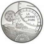 10 euro France 2012 argent BE - La Jeanne d'Arc Avers