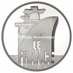 10 euro France 2012 argent BE - Le France Avers
