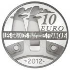10 euro France 2012 argent BE - Le France Revers