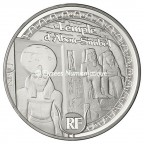 10 euro France 2012 argent BE - Patrimoine egyptien Avers