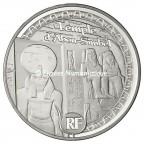 10 euro France 2012 argent BE - Patrimoine egyptien Avers