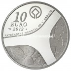 10 euro France 2012 argent BE - Patrimoine egyptien Revers