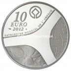 10 euro France 2012 argent BE - Patrimoine egyptien Revers