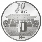 10 euro France 2012 argent BE - Rugby Club Toulonnais Revers