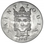 10 euro France 2012 argent BE - Saint Louis Avers