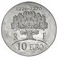 10 euro France 2012 argent BE - Saint Louis Revers