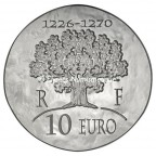 10 euro France 2012 argent BE - Saint Louis Revers