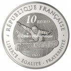 10 euro France 2013 argent BE - Snowboard Revers