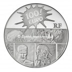 100 euro France 2011 argent BE - XIII Revers
