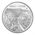 1,5 euro France 2008 argent BE - Grand Canyon Avers