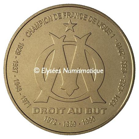 1,5 euro France 2011 - Olympique de Marseille Avers