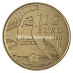 1,5 euro France 2011 - Olympique de Marseille Revers