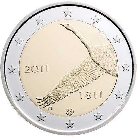 2 euro commémorative Finlande 2011 - 200ème anniversaire de la Banque de Finlande
