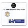 2 euro commémorative France 2012 BU - 10 ans de l'euro fiduciaire Recto