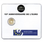 2 euro commémorative France 2012 BU - 10 ans de l'euro fiduciaire Recto