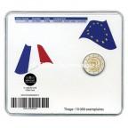 2 euro commémorative France 2012 BU - Abbé Pierre Verso