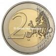 2 euro commémorative France 2013 BU - Traité de l'Elysée Revers