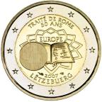 2 euro commémorative Luxembourg 2007 - Traité de Rome