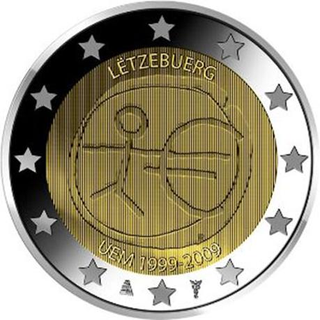 2 euro commémorative Luxembourg 2009 - EMU