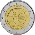 2 euro commémorative Malte 2009 - EMU