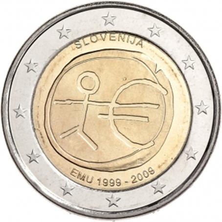 2 euro commémorative Slovénie 2009 - EMU