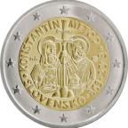 2 euro commémorative Slovaquie 2013 - Constantin et Méthode
