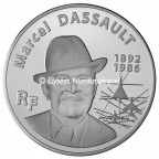 20 euro France 2010 argent BE - Marcel Dassault Avers