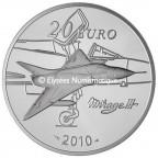 20 euro France 2010 argent BE - Marcel Dassault Revers