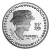 5 euro France 2008 argent BE - Coco Chanel Avers