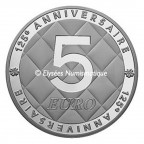 5 euro France 2008 argent BE - Coco Chanel Revers