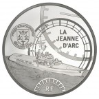 50 euro France 2012 argent BE - La Jeanne d'Arc Avers