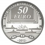 50 euro France 2012 argent BE - La Jeanne d'Arc Revers