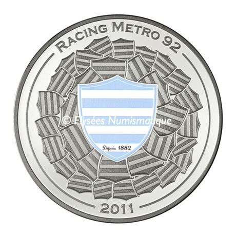 (EUR07.ComBU&BE.2011.1000.BE.10041269360000) 10 euro France 2011 argent BE - Racing Metro 92 Revers
