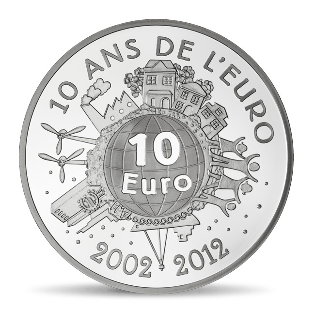 (EUR07.ComBU&BE.2012.1000.BE.10041274980000) 10 euro France 2012 Proof silver - Sower Reverse (zoom)