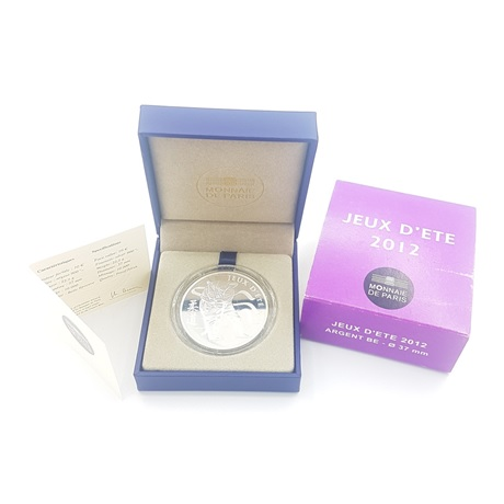 (EUR07.ComBU&BE.2012.1000.BE.10041275500000) 10 euro France 2012 argent BE - Judo (packaging)