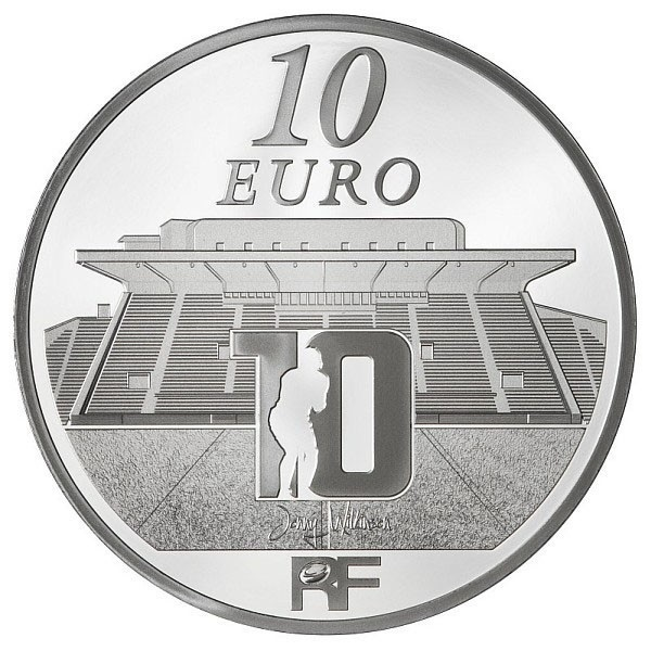 (EUR07.ComBU&BE.2012.1000.BE.10041275520000) 10 euro France 2012 Proof silver - RCT Reverse (zoom)