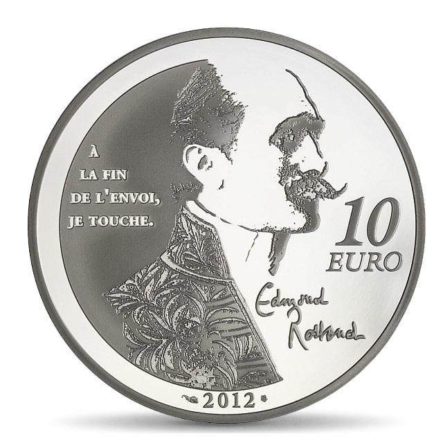 (EUR07.ComBU&BE.2012.1000.BE.COM12) 10 euro France 2012 Proof silver - Cyrano Reverse (zoom)