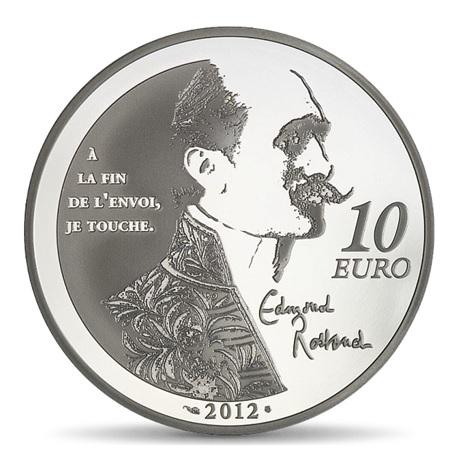 (EUR07.ComBU&BE.2012.1000.BE.COM12) 10 euro France 2012 argent BE - Cyrano Revers