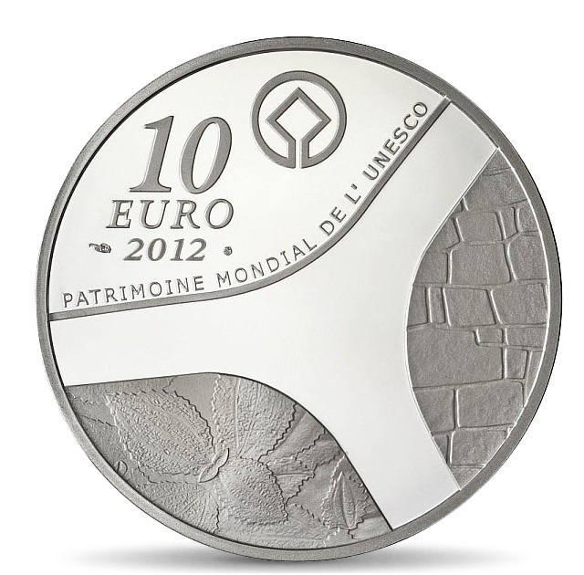 (EUR07.ComBU&BE.2012.1000.BE.COM13) 10 euro France 2012 Proof silver - Egyptian heritage Reverse (zoom)