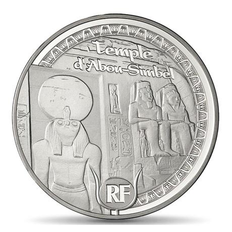 (EUR07.ComBU&BE.2012.1000.BE.COM13) 10 euro France 2012 argent BE - Egypte Avers