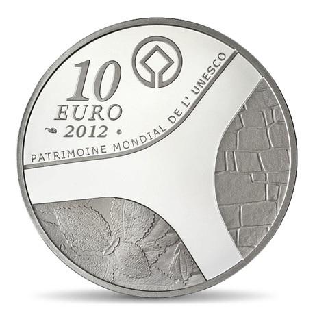 (EUR07.ComBU&BE.2012.1000.BE.COM13) 10 euro France 2012 argent BE - Egypte Revers