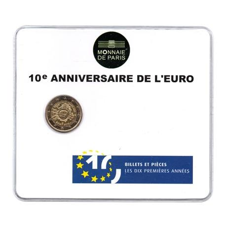 (EUR07.ComBU&BE.2012.200.BU.10041274930000) 2 euro France 2012 BU - 10 ans de l'euro Recto